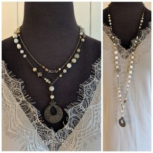 Chan Luu long coin necklace